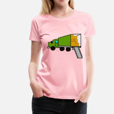 Moving moving truck - Women's Premium T-Shirt
