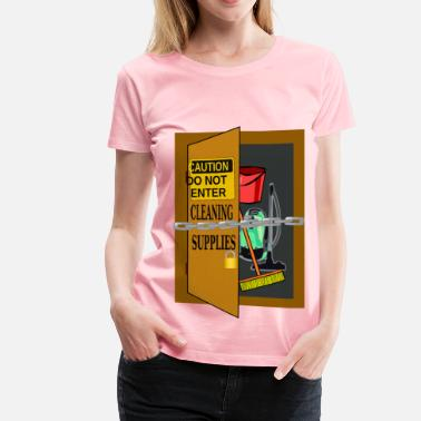 Cleaning Lady Cleaning supplies - Women's Premium T-Shirt