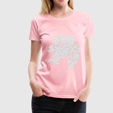 White rice - Women's Premium T-Shirt