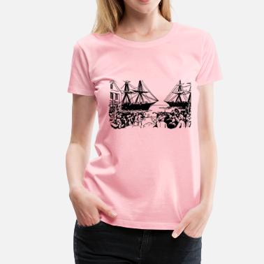 Boston Tea Party Boston Tea Party - Women's Premium T-Shirt