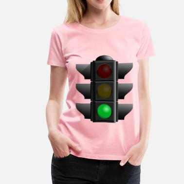Traffic-light-green traffic light green dan 01 - Women's Premium T-Shirt