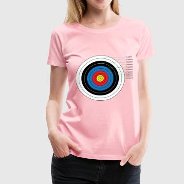Archery Target Points - Women's Premium T-Shirt