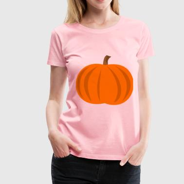 Plain Pumpkin - Women's Premium T-Shirt