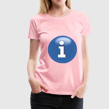 info icon - Women's Premium T-Shirt