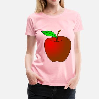 Big Apple Apple - Women's Premium T-Shirt