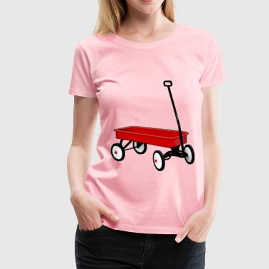 Wagon - Women's Premium T-Shirt