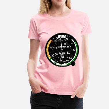 Indicator True Airspeed Indicator - Women's Premium T-Shirt
