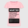 Oil Painting Teacher Wanted Poster - Women's Premium T-Shirt