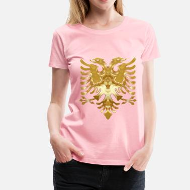 Double-headed Eagle Golden Double Headed Eagle - Women's Premium T-Shirt