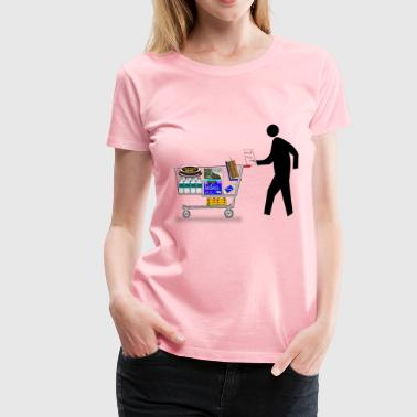 Pedestrian Shopping - Women's Premium T-Shirt