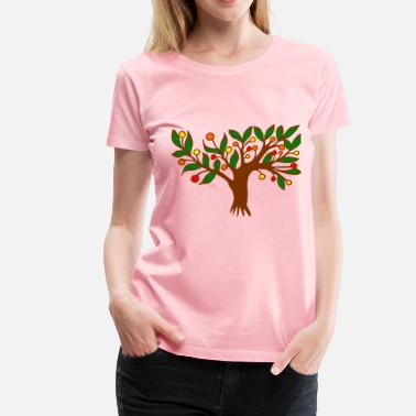 Colourful Tree Tree (colour) - Women's Premium T-Shirt