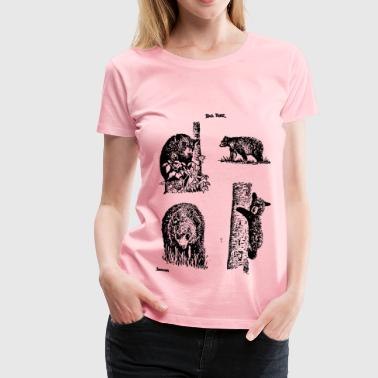 Bear Grouping - Women's Premium T-Shirt