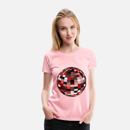 Apple T-Shirts - Sphere 3 - Women's Premium T-Shirt pink