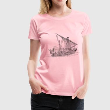 Venetian ship - Women's Premium T-Shirt