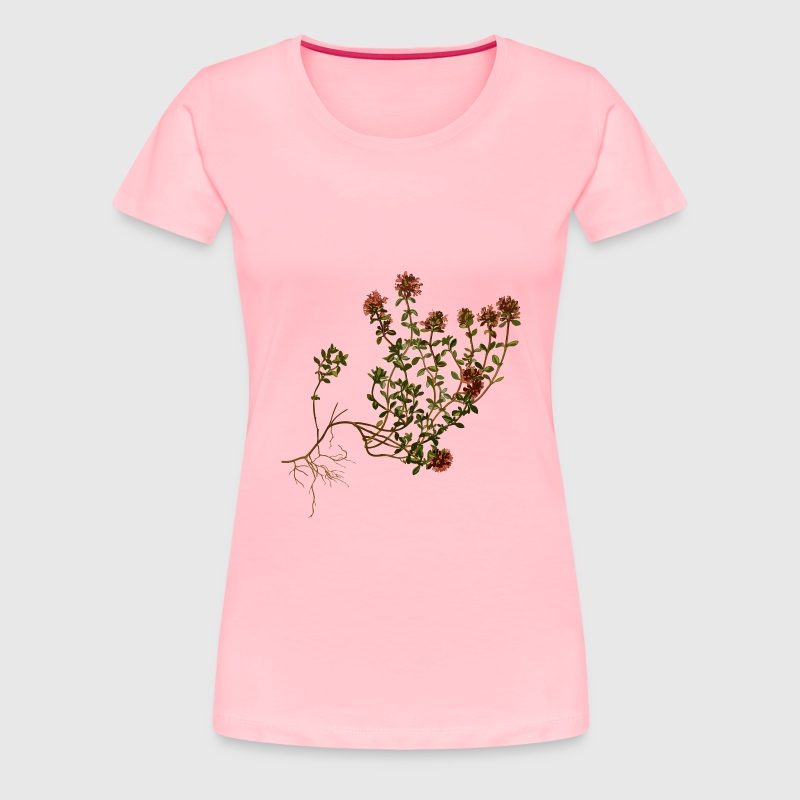 Wild thyme (low resolution) - Women's Premium T-Shirt