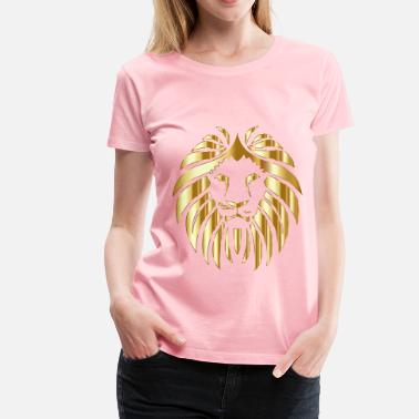 Lion King 2 Golden Lion Variation 2 No Background - Women's Premium T-Shirt
