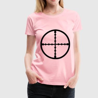 Gun sight - Women's Premium T-Shirt