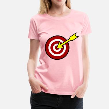 Targeting On Target - Women's Premium T-Shirt