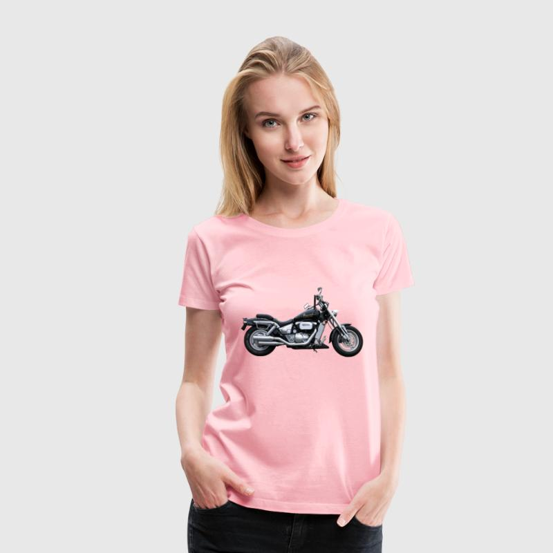 Heavy Duty Motorcycle - Women's Premium T-Shirt