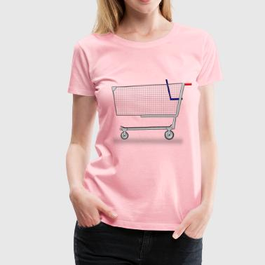 Shopping Cart - Women's Premium T-Shirt