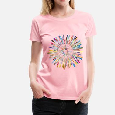 Multicultural Multicultural Explosion 2 No Background - Women's Premium T-Shirt