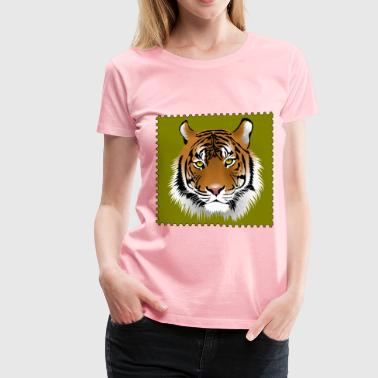 Save Vanishing Species Stamp - Women's Premium T-Shirt