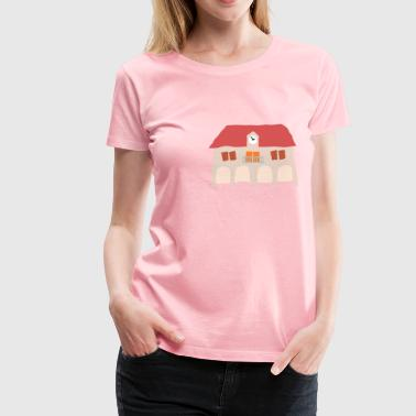 Crooked Town Hall 1 - Women's Premium T-Shirt
