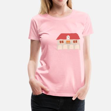 Town Hall Crooked Town Hall 1 - Women's Premium T-Shirt
