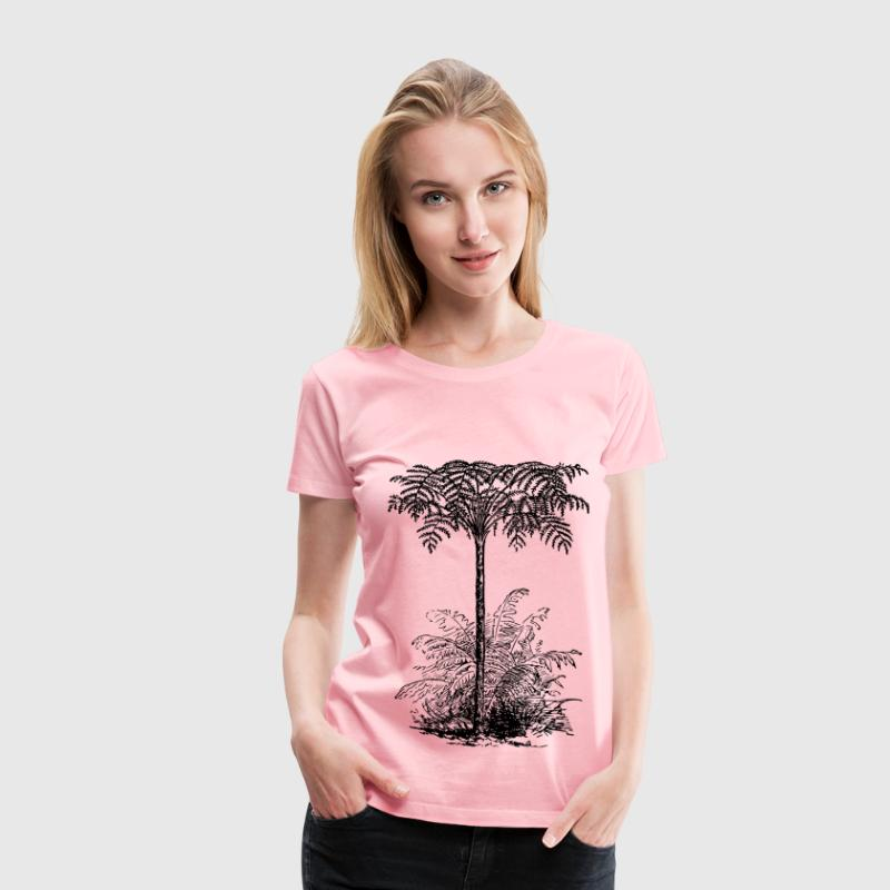 Tree fern - Women's Premium T-Shirt