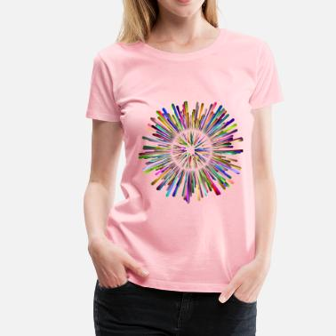 Multicultural Multicultural Explosion 5 No Background - Women's Premium T-Shirt