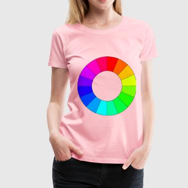 Color wheel 16 colors - Women's Premium T-Shirt