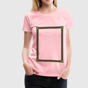 Fuzzy ZigZags - Women's Premium T-Shirt