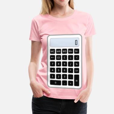 Calculator Calculator - Women's Premium T-Shirt