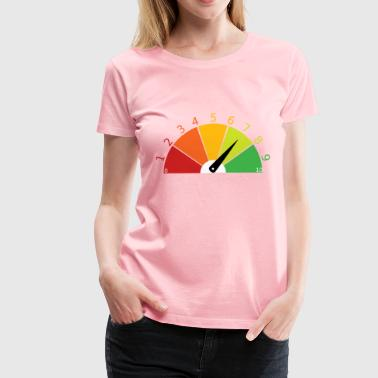 evaluation score - Women's Premium T-Shirt