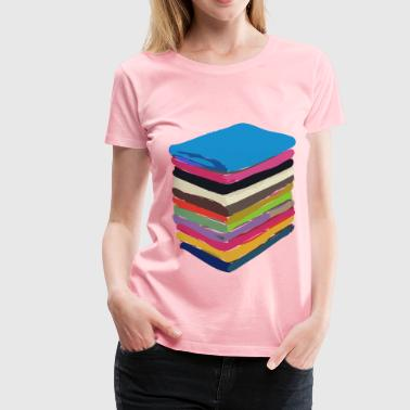 Rainbow Towels - Women's Premium T-Shirt
