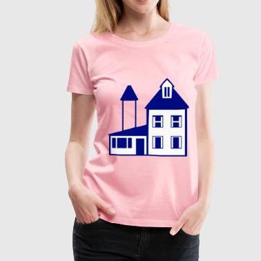 Blue Lodge & Blue House - Women's Premium T-Shirt