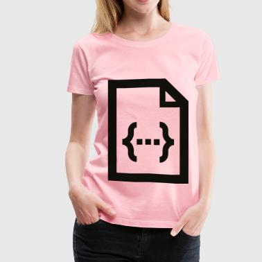 data - Women's Premium T-Shirt
