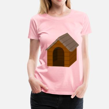 Doghouse Brown doghouse - Women's Premium T-Shirt