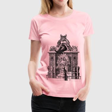 Organ Case with Hidden Pipes - Women's Premium T-Shirt