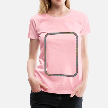 The Squiggles Squiggle Border - Women's Premium T-Shirt