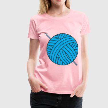 Yarn Ball - Women's Premium T-Shirt