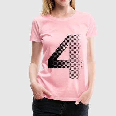 four - Women's Premium T-Shirt