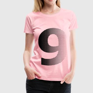 nine - Women's Premium T-Shirt