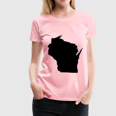 Wisconsin - Women's Premium T-Shirt