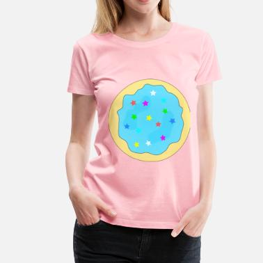 Sugar Cookie Blue Sugar Cookie - Women's Premium T-Shirt