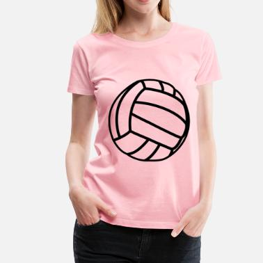 Volleyball Jokes Volleyball - Women's Premium T-Shirt
