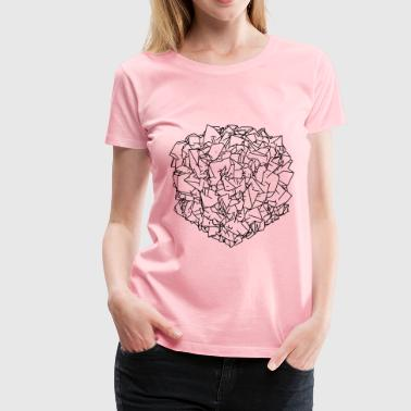 Folded paper - Women's Premium T-Shirt