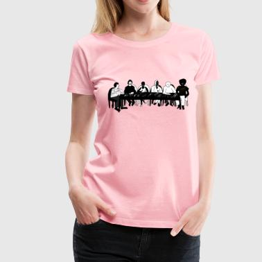 Meeting Table - Women's Premium T-Shirt