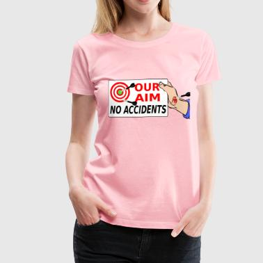 Satirical Safety - Women's Premium T-Shirt