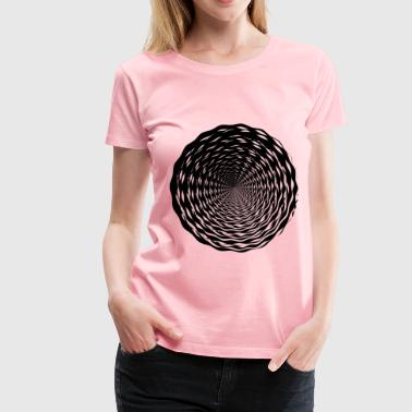 Abstract Vortex 19 - Women's Premium T-Shirt